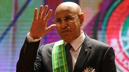 Le nouveau président mauritanien, Mohamed Ould Ghazouani