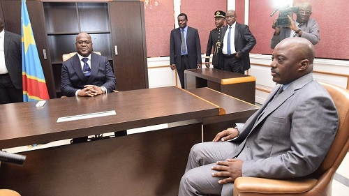 Félix Tshisekedi s'est entretenu avec Joseph Kabila