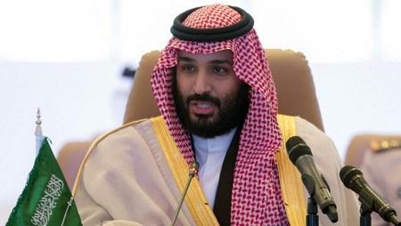 Le prince saoudien, Mohammed ben Salman, à Ryad, le 26 novembre 2017 (image d'illustration). ©BANDAR AL-JALOUD/Saudi Royal Palace/AFP