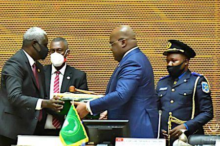 Félix Tshisekedi, nouveau président en exercice de l'Union Africaine