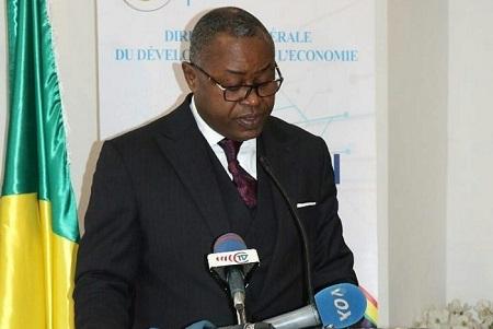 Ministre en charge des postes, télécommunications et de l'économie numérique, Léon Juste IBOMBO