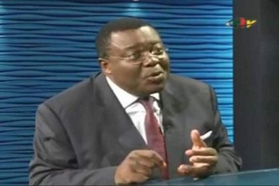 M. Jean de Dieu Momo, ministre délégué auprès du ministre de la Justice du Cameroun
