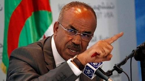 Noureddine Bedoui, ministre de l'Intérieur. PPAgency