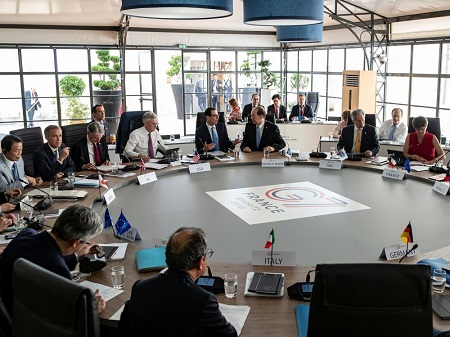 Les ministres des Finances des pays du G7 se sont accordés sur la nécessité de mettre en place une imposition minimale des sociétés afin de lutter contre l'évasion et l'optimisation fiscales.  Photo: POOL NEW