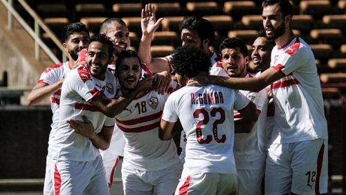 L'équipe du Zamalek lors du match aller perdu face à Gor Mahia (4-2), le 3 février 2019. Yasuyoshi CHIBA / AFP