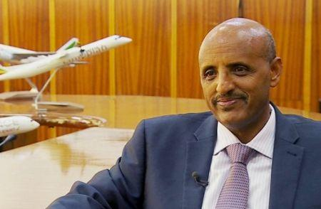 Tewolde Gebre Mariam, le directeur général de la compagnie
