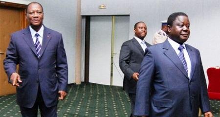 Le divorce est consommé entre Alassane Ouattara et Henri Konan Bédié