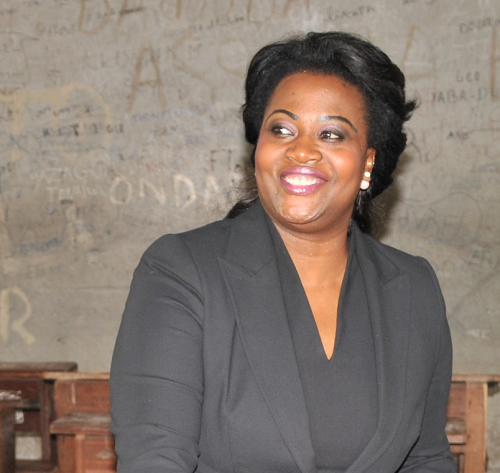 Claudia Sassou Nguesso, la fille du président du Congo