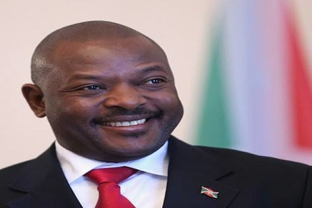 Le President Pierre Nkurunziza . Illustration