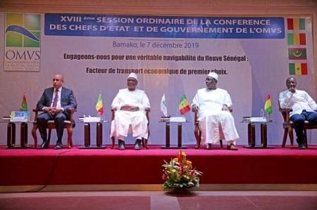 Bamako a abrité le sommet de l'OMVS, une vision commune aux profit des populations riveraines