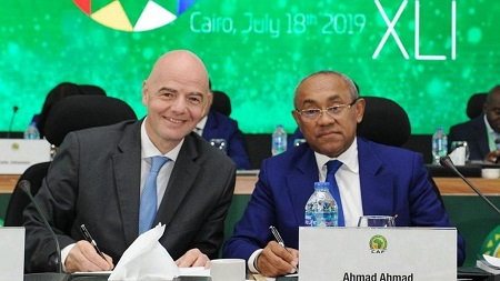 La Confédération africaine de football (CAF) se réunissait en congrès ce jeudi en Egypte