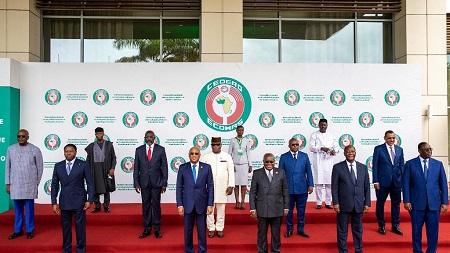 Les chefs d'Etats de la CEDEAO   -  AFP