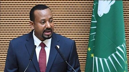 Le Premier ministre éthiopien Abiy Ahmed. © AFP/Monirul BHUIYAN