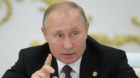 Le président russe, Vladimir Poutine. ©Bureau de presse du Kremlin