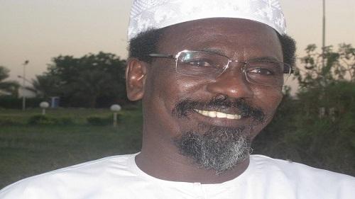 Youssouf Hamid, porte-parole de l'Union des forces de la résistance (UFR)