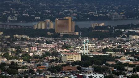 Vue de Bamako, la capitale du Mali, le 9 août 2018. (Image d'illustration) REUTERS/Luc Gnago