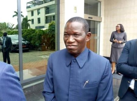 L'ancien ministre ivoirien de l'Agriculture reconverti dans les affaires , Koné Dossongui