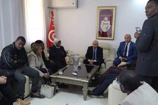 Fadhel Mahfoudh exprime sa profonde compassion avec la famille de Falikou Coulibaly