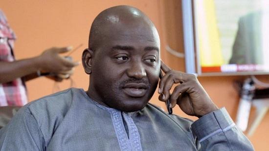 Le Libérien Musa Bility. AFP PHOTO / ZOOM DOSSO