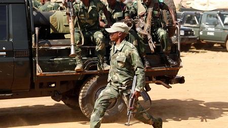 Des combats opposent des éléments de l'armée congolaise à des soldats zambiens à la frontière des deux pays (image d'illustration) REUTERS/Goran Tomasevic