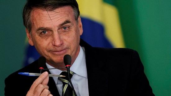 Promise par Jair Bolsonaro, la mesure facilitant l'accès aux armes est très controversée dans un Brésil miné par la criminalité. REUTERS/Ueslei Marcelino