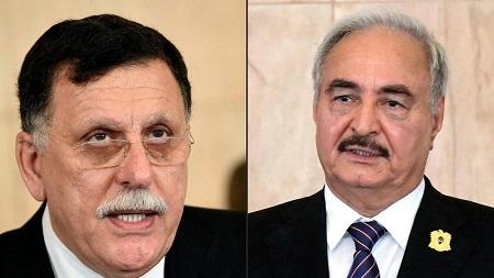 Les deux camps en présence en Libye, en pourparlers à Genève depuis lundi