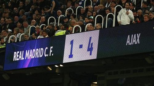Le Real Madrid éliminé de la Ligue européenne des champions
