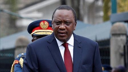 Le président du Kenya, Uhuru Kenyatta. © REUTERS/Thomas Mukoya