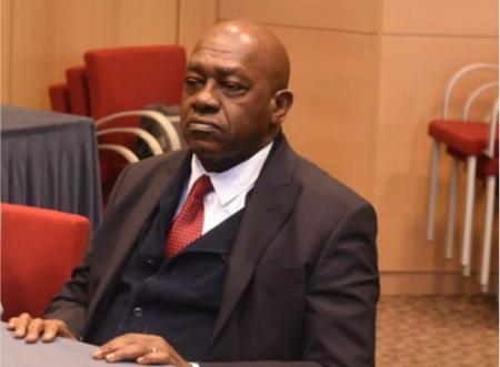 Christian Penda Ekoka, président du mouvement ACT-AGIR dont la devise est « Prenons notre destin en main »