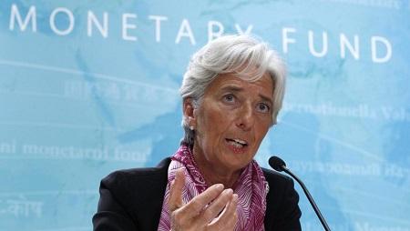 Christine Lagarde au siège du FMI à Washington, le mercredi 6 juillet 2011 © REUTERS / Kevin Lamarque