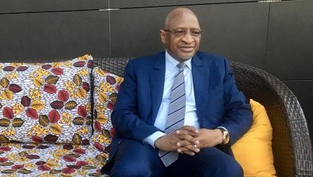 Soumeylou Boubèye Maïga, ancien Premier ministre malien, était le directeur de la mission d'observation de la Cédéao en Guinée-Bissau. © RFI/Charlotte Idrac