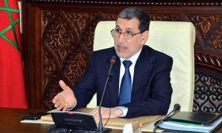 Le Chef du gouvernement, Saad Dine El Otmani