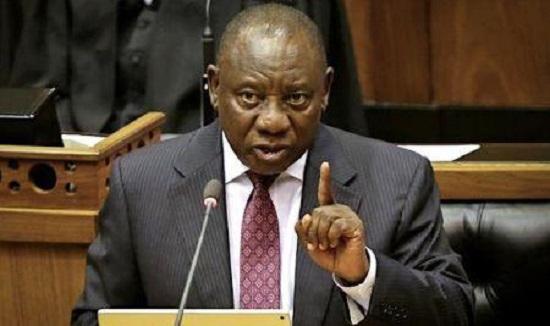 Cyril Ramaphosa, president de l'Afrique du Sud