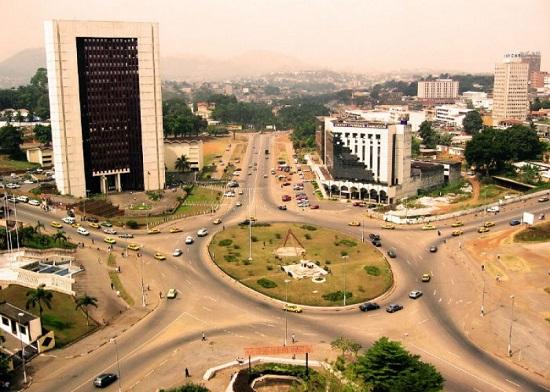 Yaoundé, Centre ville de la capitale du Cameroun