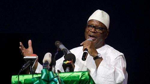 Le chef de l'Etat Ibrahim Boubacar Keïta