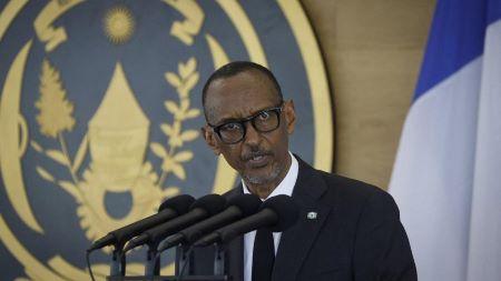 Le président du Rwanda, Paul Kagame. AFP