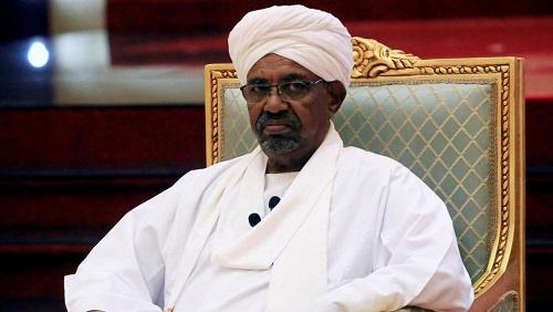 L'ex-président soudanais Omar el-Béchir, ici le 5 avril 2019 à Khartoum (illustration). © REUTERS/Mohamed Nureldin Abdallah