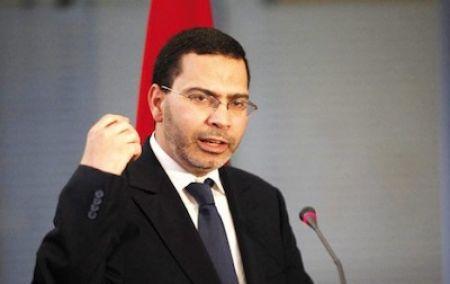 Monsieur Mustapha El Khalfi, ministre chargé des Relations avec le Parlement et la société civile et porte-parole du gouvernement