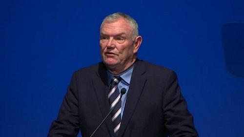Greg Clarke, président de la fédération anglaise de football