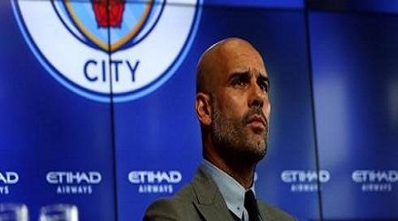 Le coach catalan de Manchester City, Josep Guardiola (Pep). Photo: EPA