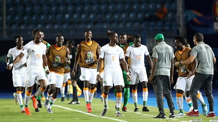 La Côte d'Ivoire a renversé le Mali (1-0) grâce à Wilfried Zaha, lundi en 8es de la CAN à Suez