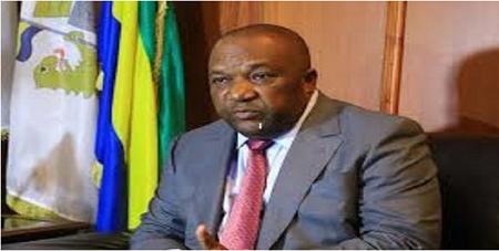 Le maire de Libreville, Léandre Zué