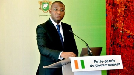 Sidi Tiémoko Touré, Ministre ivoirien de la communication