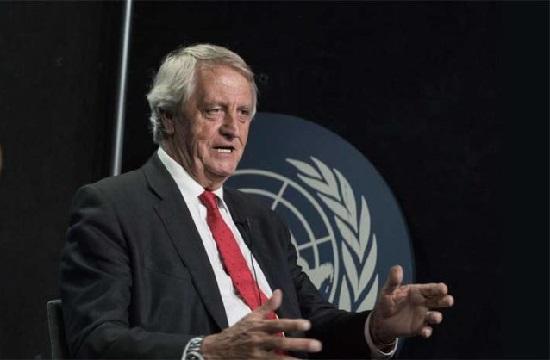 Nicholas Haysom, représentant spécial du secrétaire général de l'ONU pour la Somalie