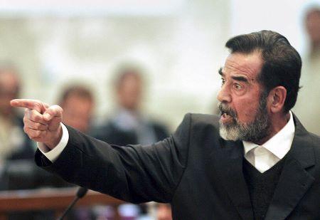 Saddam Hussein, ex-président irakien