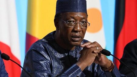 Le président tchadien Idriss Déby à déclaré l'état d'urgence dans deux provinces du Tchad suite à des affrontements intercommunautaires. © Ludovic MARIN / AFP