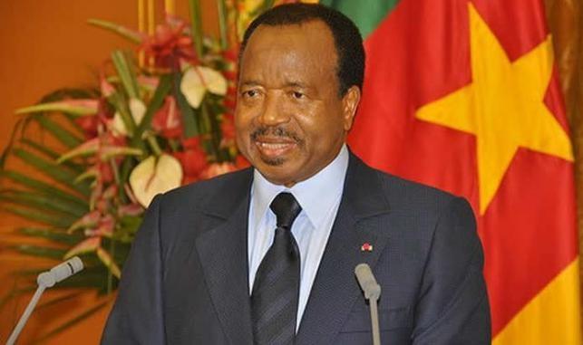 Le chef de l'État camerounais, Paul Biya