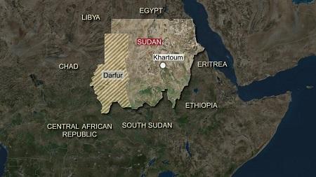 Dix-huit personnes dont quatre enfants ont été tuées jeudi dans le crash d'un avion militaire soudanais au  Darfour