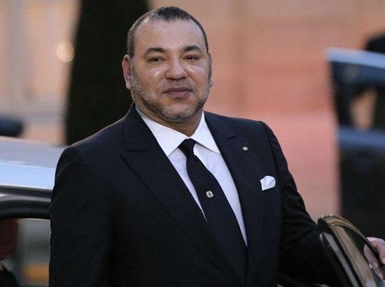 La future plus haute tour d'Afrique sera baptisée en l'honneur du roi Mohammed VI du Maroc.  CHRISTOPHEENA/AP/SIPA