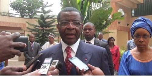 L'ancien ministre camerounais de la Défense et des Transports, Edgar Alain Mebe Ngo'o